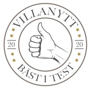 bäst i test logotyp